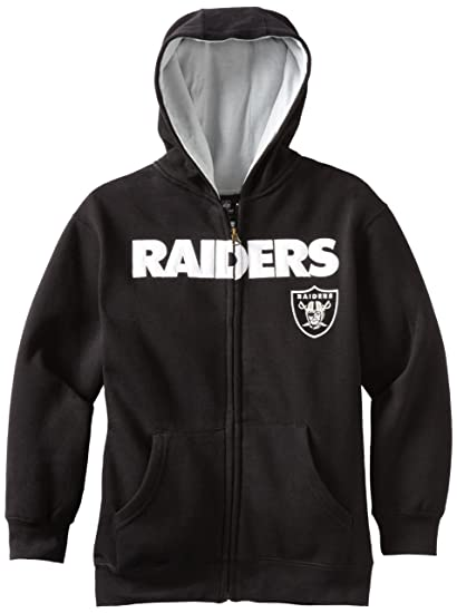 Outerstuff NFL Oakland Raiders 8 – 20 jóvenes Deportistas con Cremallera Completa Sudadera con Capucha,