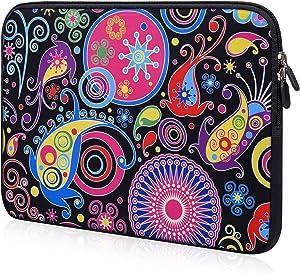 iBenko 11.6-12 inch Chromebook Case Neoprene Laptop Bag Sleeve Compatible with ASUS Chromebook C202 C214 C302/Lenovo Chromebook C330 C340/Samsung Chromebook 3 2/Acer Spin 1 SP111-33