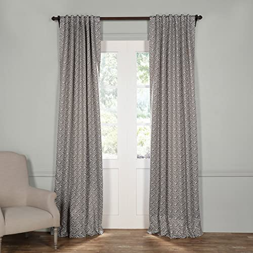 HPD Half Price Drapes BOCH-KC16079-108 Blackout Room Darkening Curtain 1 Panel , 50 X 108, Cobblestone Taupe