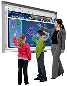 INTERACTIVE SMART BOARD SBX885 WITH SHORT THROW PROJECTOR BUNDLE