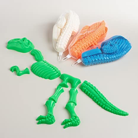 Dinosaur Bones Sand Mold Set (10 Pcs  Set)