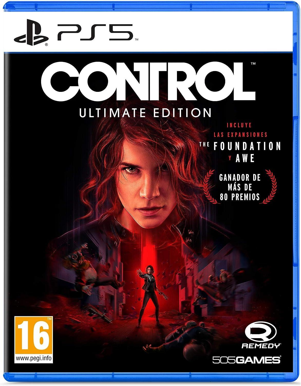 #Videojuego Control: Ultimate Edition PS5 por 26,99€ ¡¡34% de descuento!!