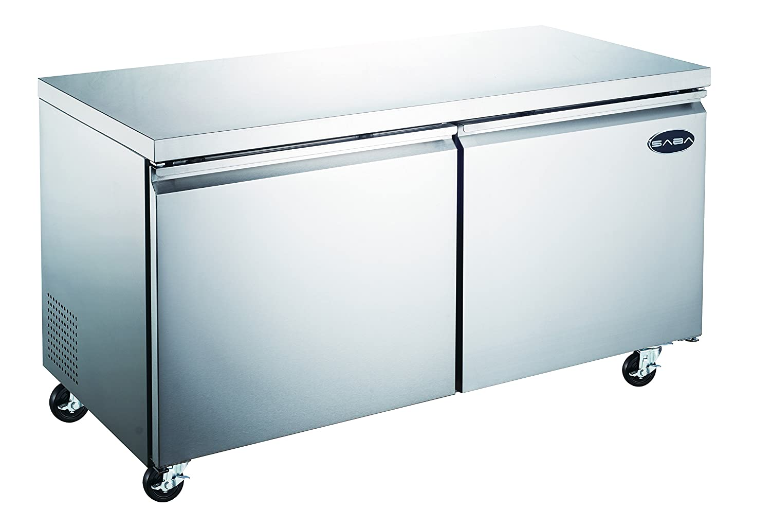 Commercial Under Counter Refrigerator Cooler with 2 Door and 60