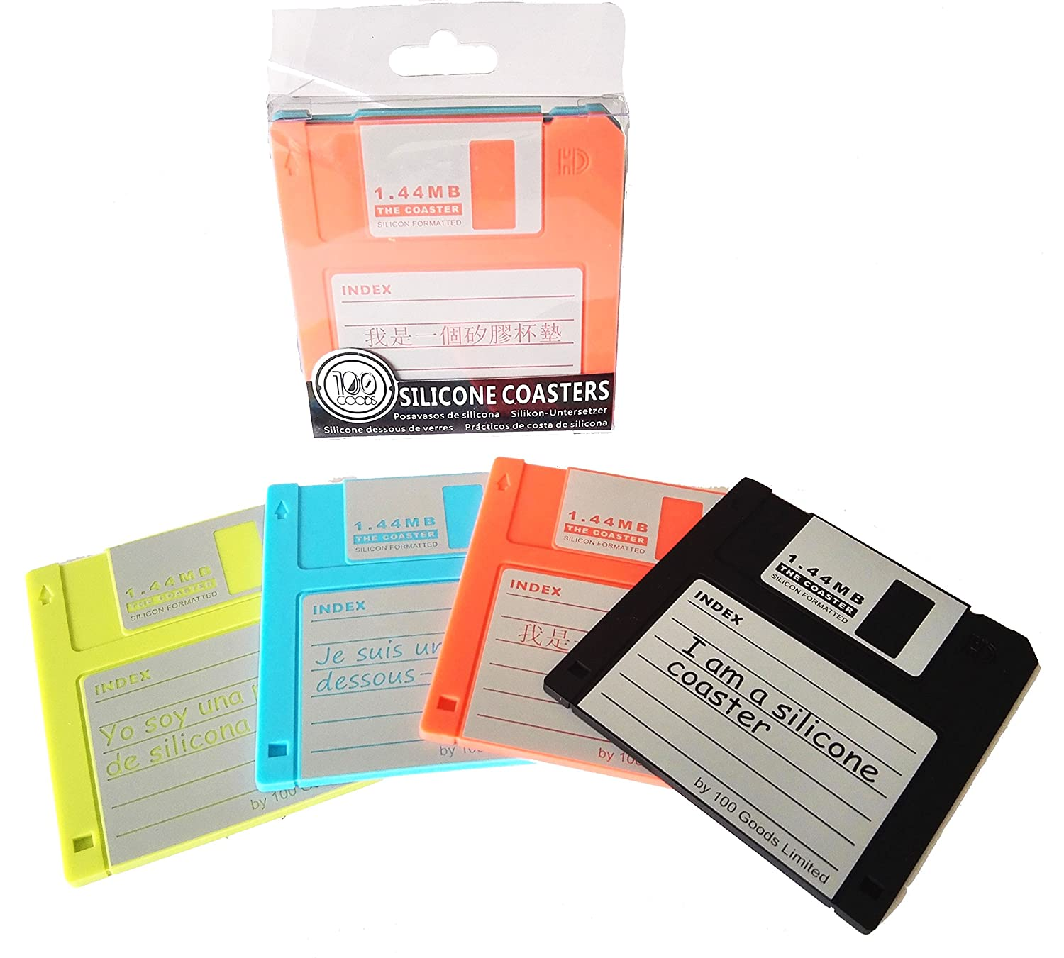 Lot of 100 3.5 inch NON WORKING Used Floppy Disks.