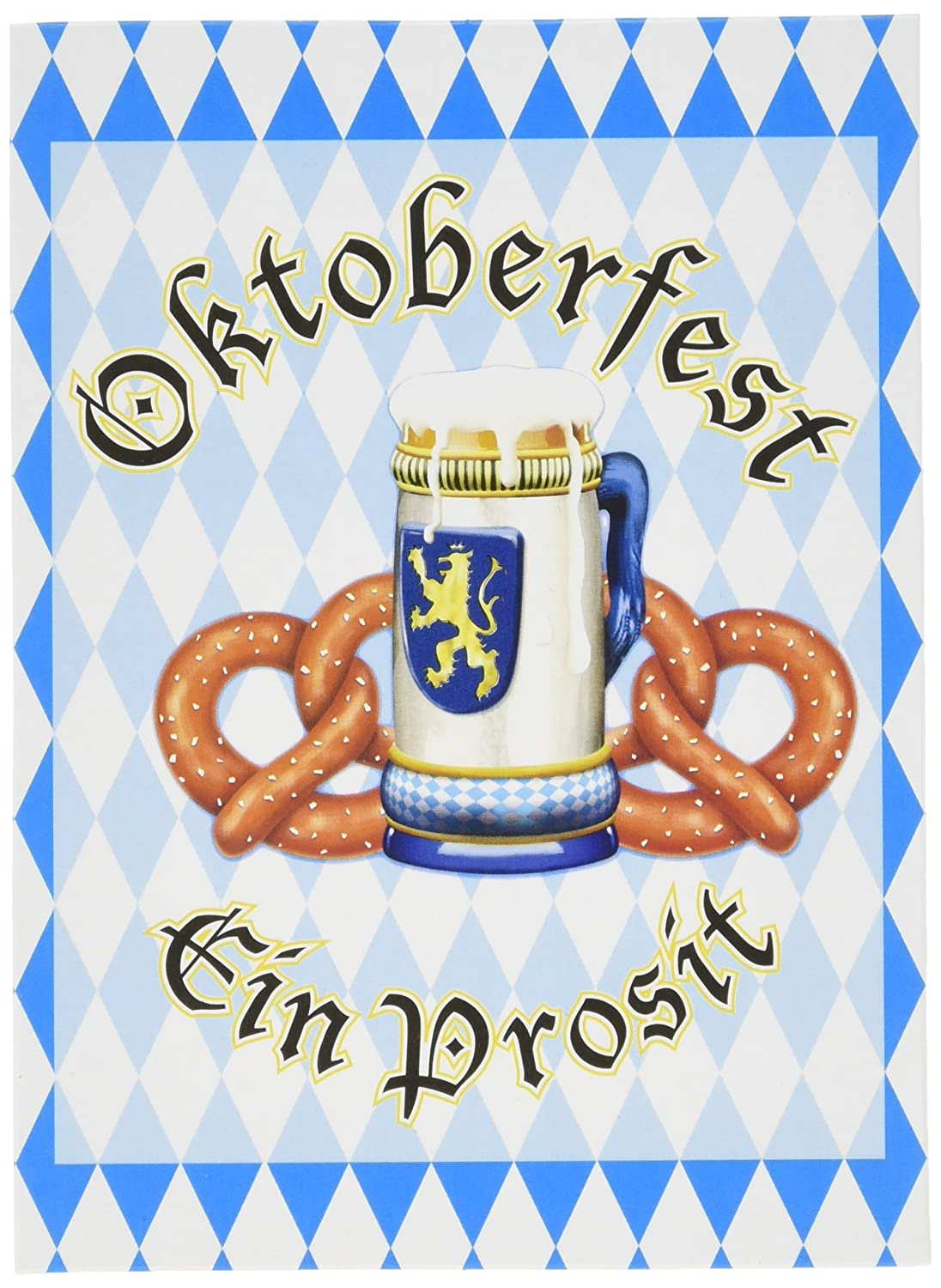 Oktoberfest Invitations envelopes included 8 Pkg