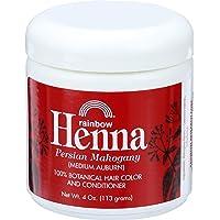 Rainbow Research Henna Hair Color and Conditioner Persian Mahogany Medium Auburn...