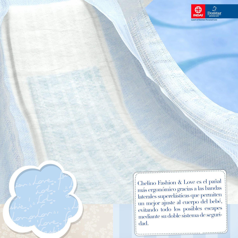 Chelino Fashion & Love, Talla 6, 27 pañales: Amazon.es: Salud y cuidado personal