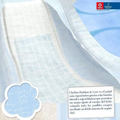 Chelino Fashion & Love, Talla 6, 162 pañales: Amazon.es: Salud y cuidado personal