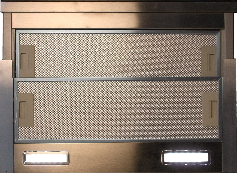 Flachschirmhaube 60cm Kaiser EA 644 EEK:A 910m³//h Einbau Dunstabzugshaube+Umluft