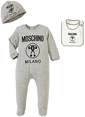 09b1e39c6ae4 Amazon.com  MOSCHINO Baby Boys  Romper