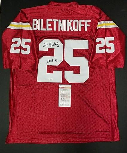 quality design d0a53 53da3 Fred Biletnikoff Autographed Jersey - Custom SZ XL.WITNESS ...
