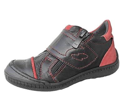36adcbb987edc Jungen-Kinder-Sneaker-Slipper-Halbschuhe- echt Leder-Schuhe-  Klettverschluss+