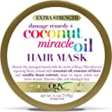 OGX Extra Strength Damage Remedy + Coconut Miracle Oil Hair Mask, Extra Hydrating & Softening Anti-Frizz Treatment to…