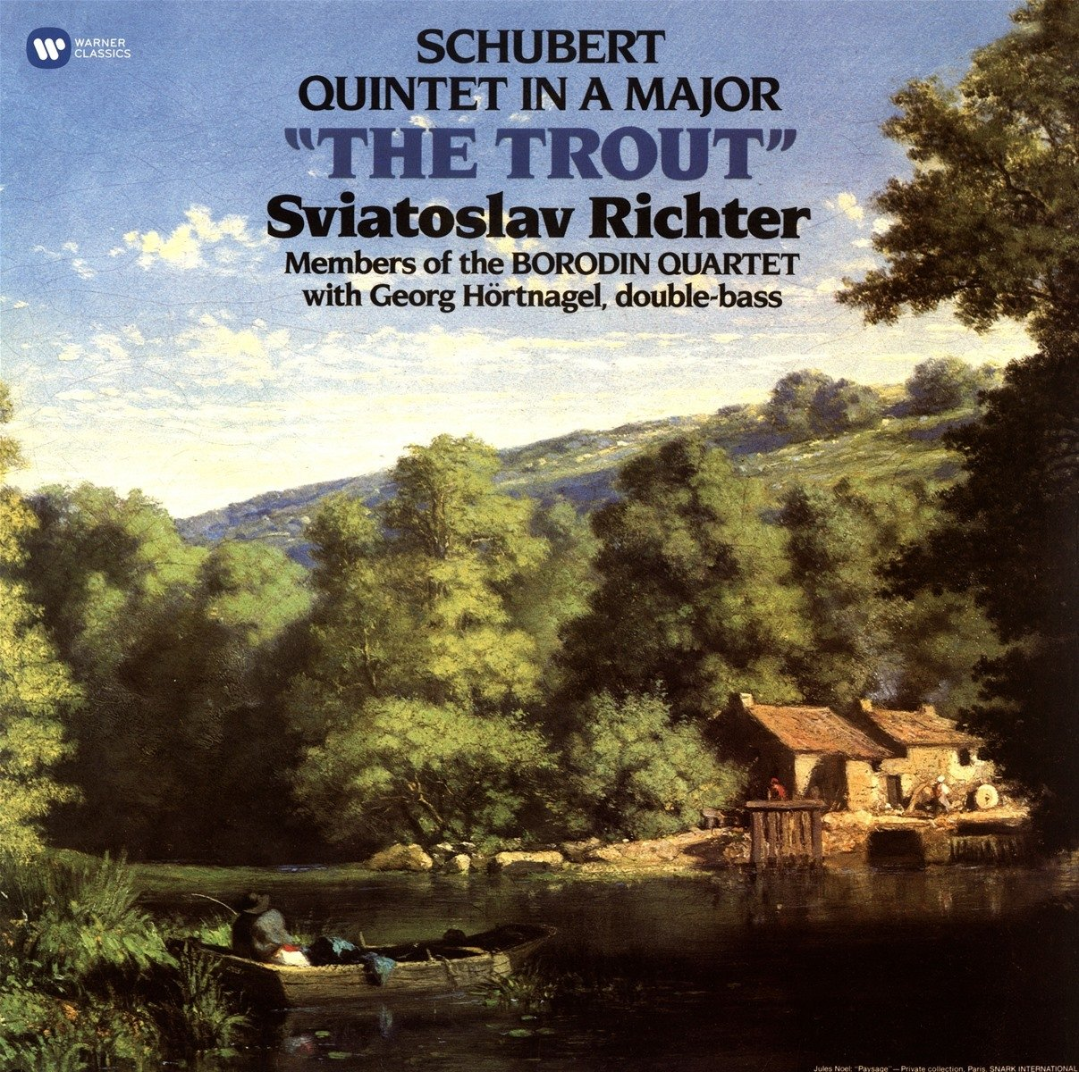 Vinilo : Sviatoslav Richter/Borodin Quartet/Georg Hörtnagel - Trout Quintet (LP Vinyl)