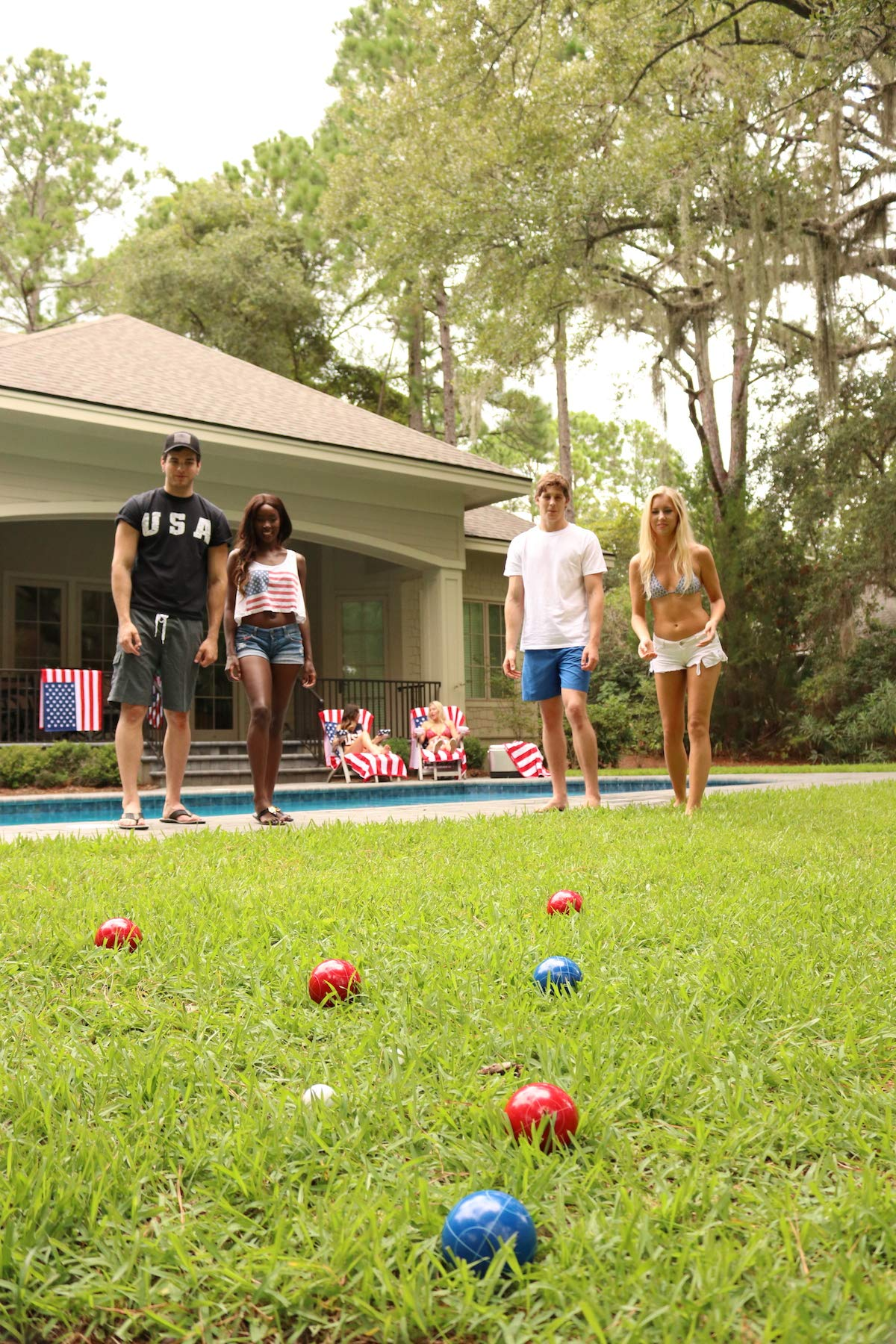 PROLINE NFL Houston Texans Bocce Ball Set by PROLINE (Image #3)