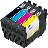 OCP Remanufactured OCP-288 Ink Cartridge Replacement for Expression XP-430 XP-434 XP-330 XP-446 XP-340 XP-440 Printers (1 Black 1 Cyan 1 Magenta 1 Yellow)
