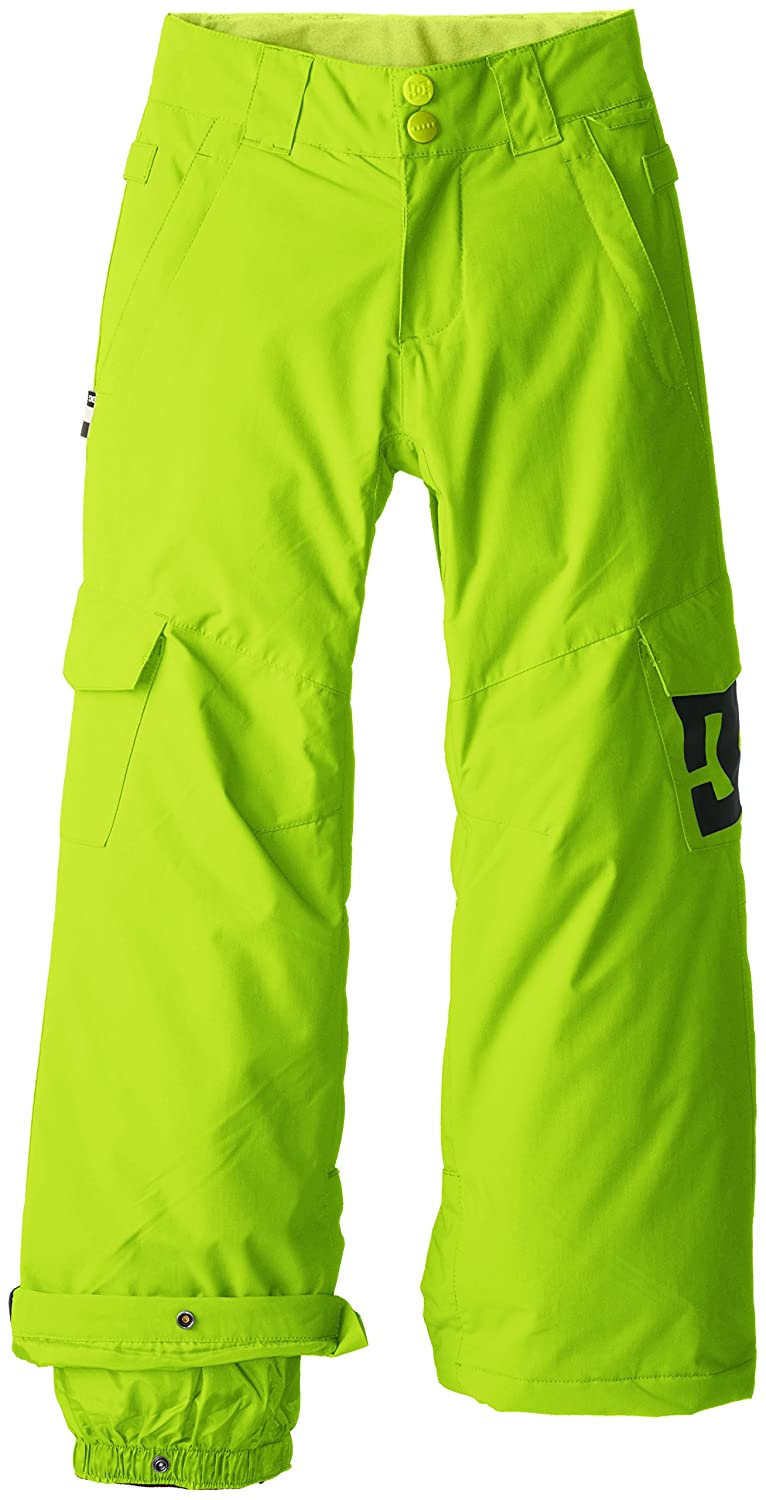 dc shoes sport banshee pantalon de ski gar on lime green fr 10 ans ebay. Black Bedroom Furniture Sets. Home Design Ideas