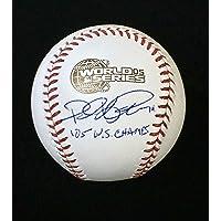 $129 » Paul Konerko Chicago White Sox Signed Autographed 2005 World Series Baseball with JSA COA
