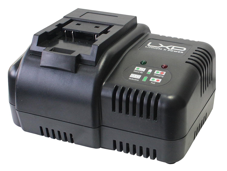 Cargador de Bater/ías para Herramientas el/éctricas Peque/ño Negro y Azul Hyundai HY-HYCH18-25 18 V
