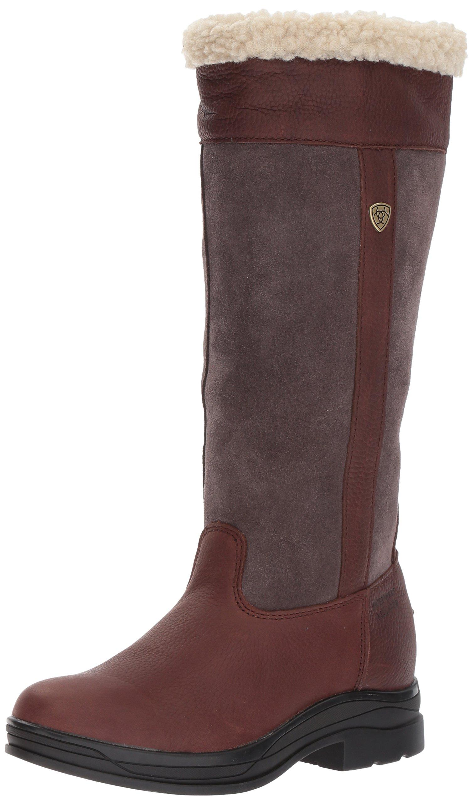 Ariat Women's Windermere H2O Work Boot, Dark Brown, 8.5 B US