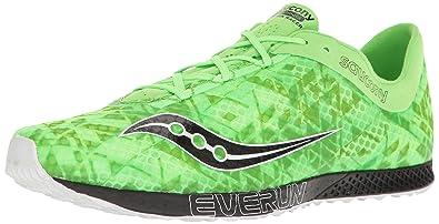 5a4b5e7ae902 Saucony Men s Endorphin Racer 2 Track Shoe Slime Black 7 ...