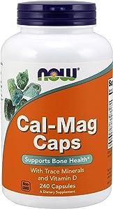 Now Foods, Cal-Mag Caps, 240 Capsules