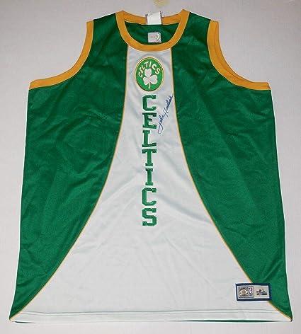 424e6fb68 Image Unavailable. Image not available for. Color  John Havlicek  Autographed Jersey (boston Celtics) ...