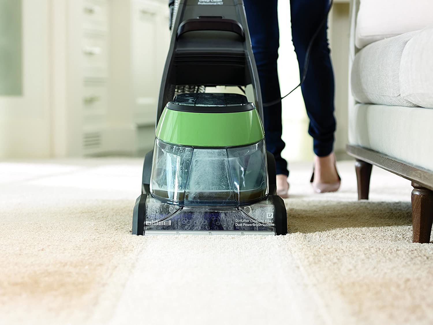 Bissell Deepclean Professional Pet Carpet Cleaner 17n4p Sweeper Diagram And Parts List For Carpetfloor Home Kitchen