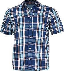 0612cae3 Urban Pipeline Boys Kids Plaid Short Sleeve Casual Dress Shirt/w Free  T-Shirt