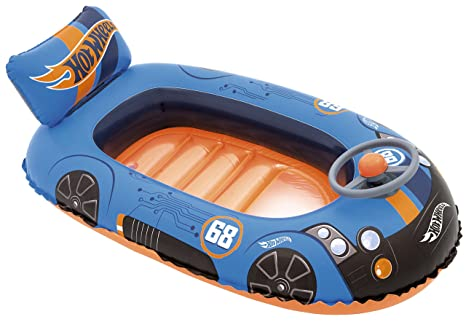 Amazon Com Bestway Bw93405 Hot Wheels Children S Inflatable Speed