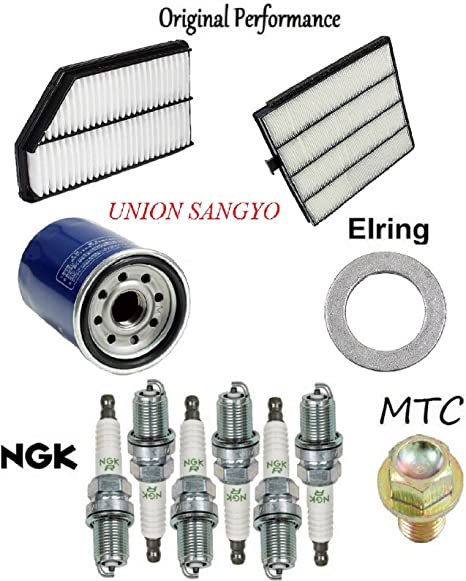 Tune Up Kit Filters Spark Plugs For CHRYSLER PT CRUISER L4; 2.4L 2001-2002