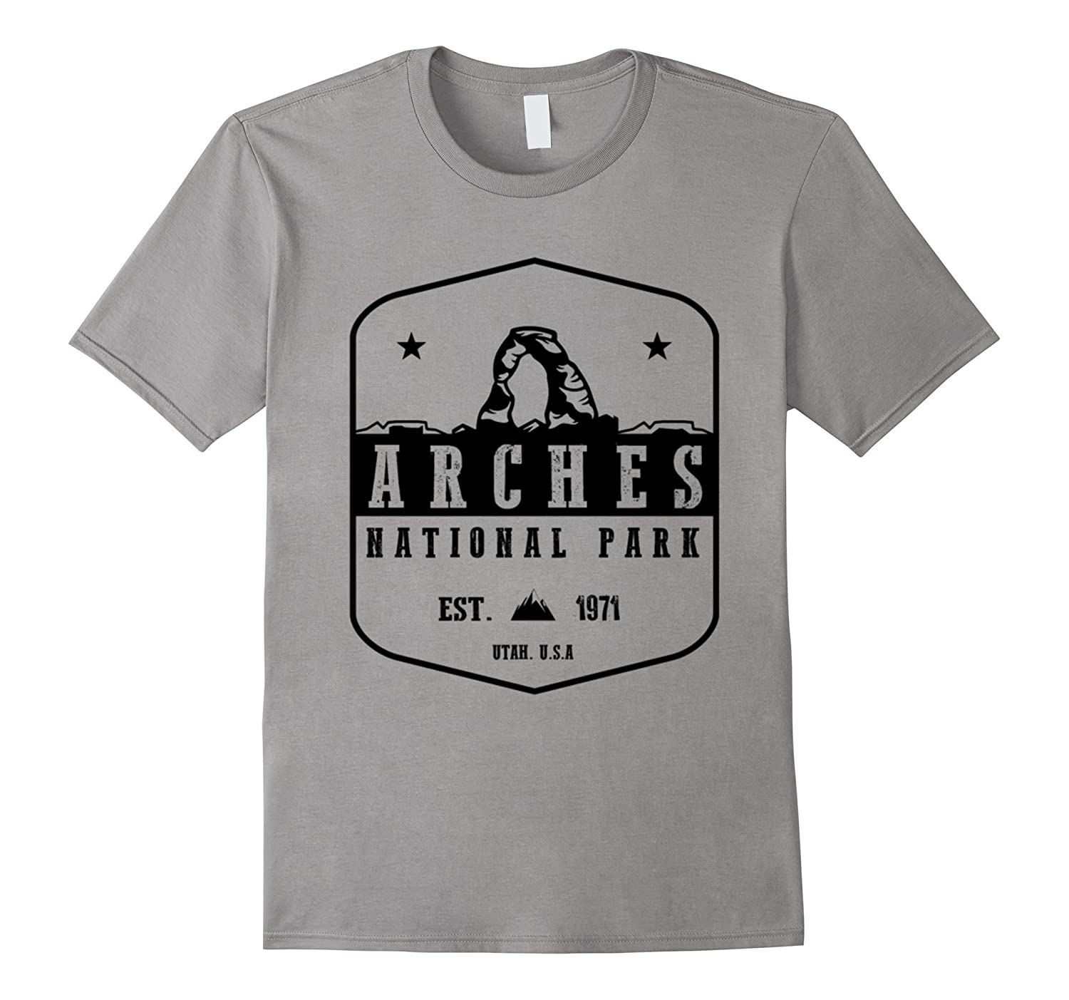 Arches National Park Tshirt Hiking Wanderlust Tee-TH