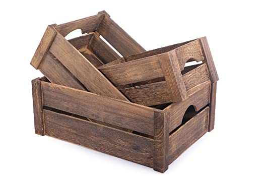 Brown wooden apple crates display plants fruits storage easter brown wooden apple crates display plants fruits storage easter gift hamper negle Image collections