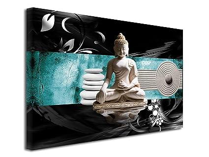 DECLINA Tableau élégance Bouddha - Impression sur Toile ...