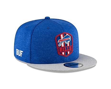 Image Unavailable. Image not available for. Color  New Era Buffalo Bills  2018 NFL Sideline Road Official 9FIFTY Snapback Hat b76734806