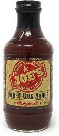 Joe S Kansas City Original Bbq Sauce 581g 20 5 Oz Amazon Co Uk Grocery
