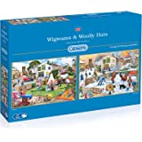 Gibsons  Wigwams and Woolly Hats Jigsaw Puzzle (2 x 500-Piece)