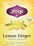 Yogi Tea - Lemon Ginger, 16 bag,1.27 OZ(36g)