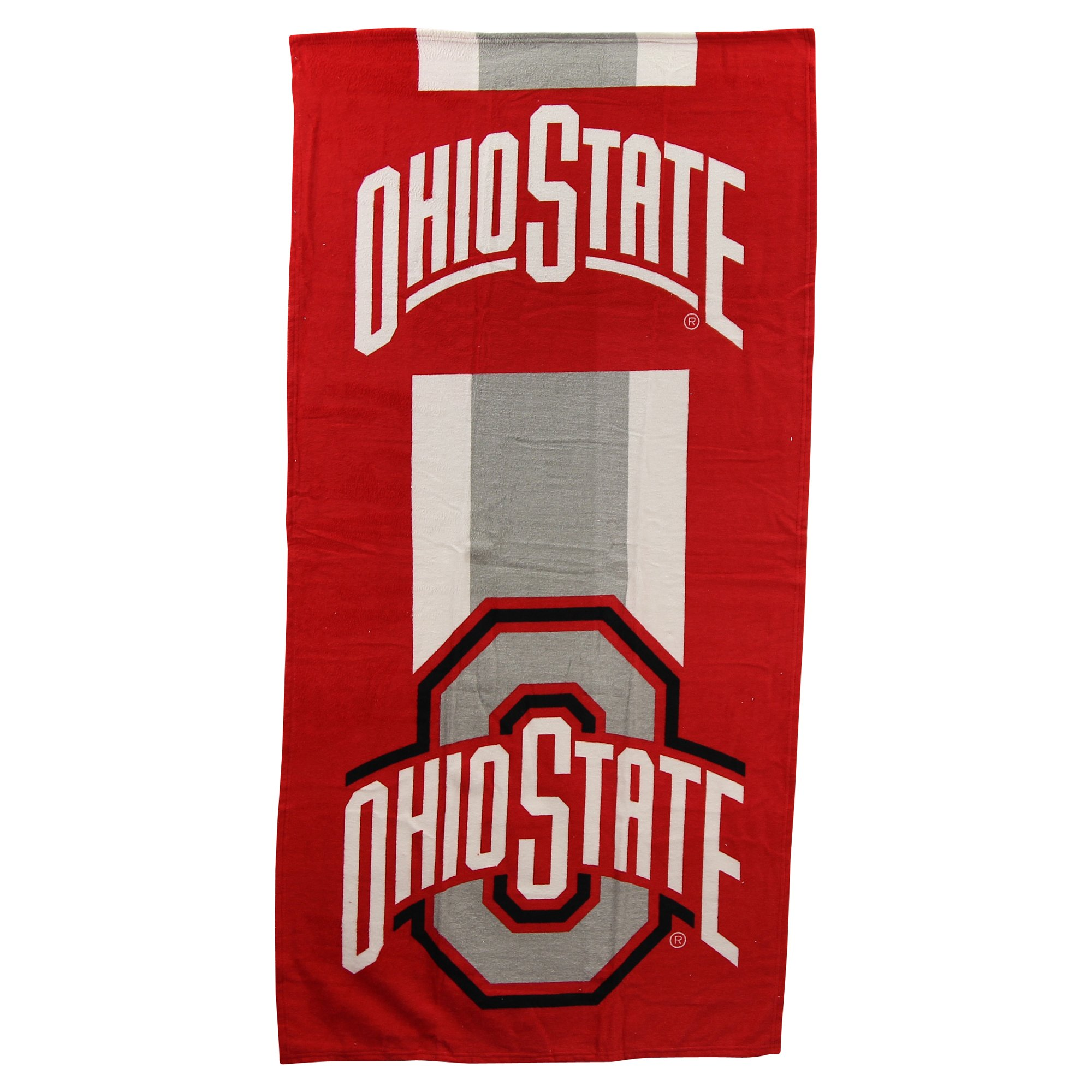 The Northwest Company NCAA Collegiate Zone Read Beach Towel 30'' x 60'' (Ohio State Buckeyes)
