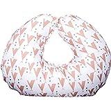 Amazon.com: Almohada de lactancia materna extrasuave con ...