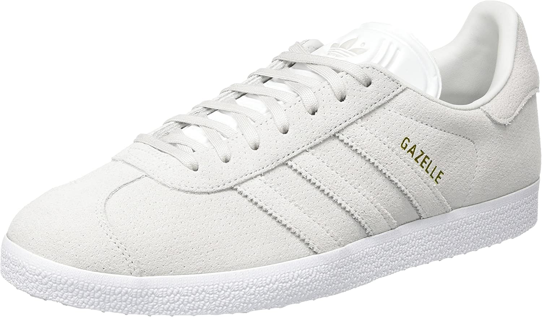 adidas Herren Gazelle Sneakers Grau Grey One Grey One Gold Metallic