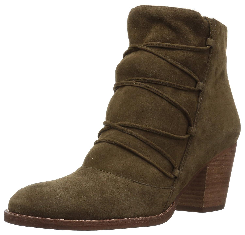 Sam Edelman Women's Millard Ankle Boot B06XC56WZ5 8 B(M) US|Deep Moss Leather