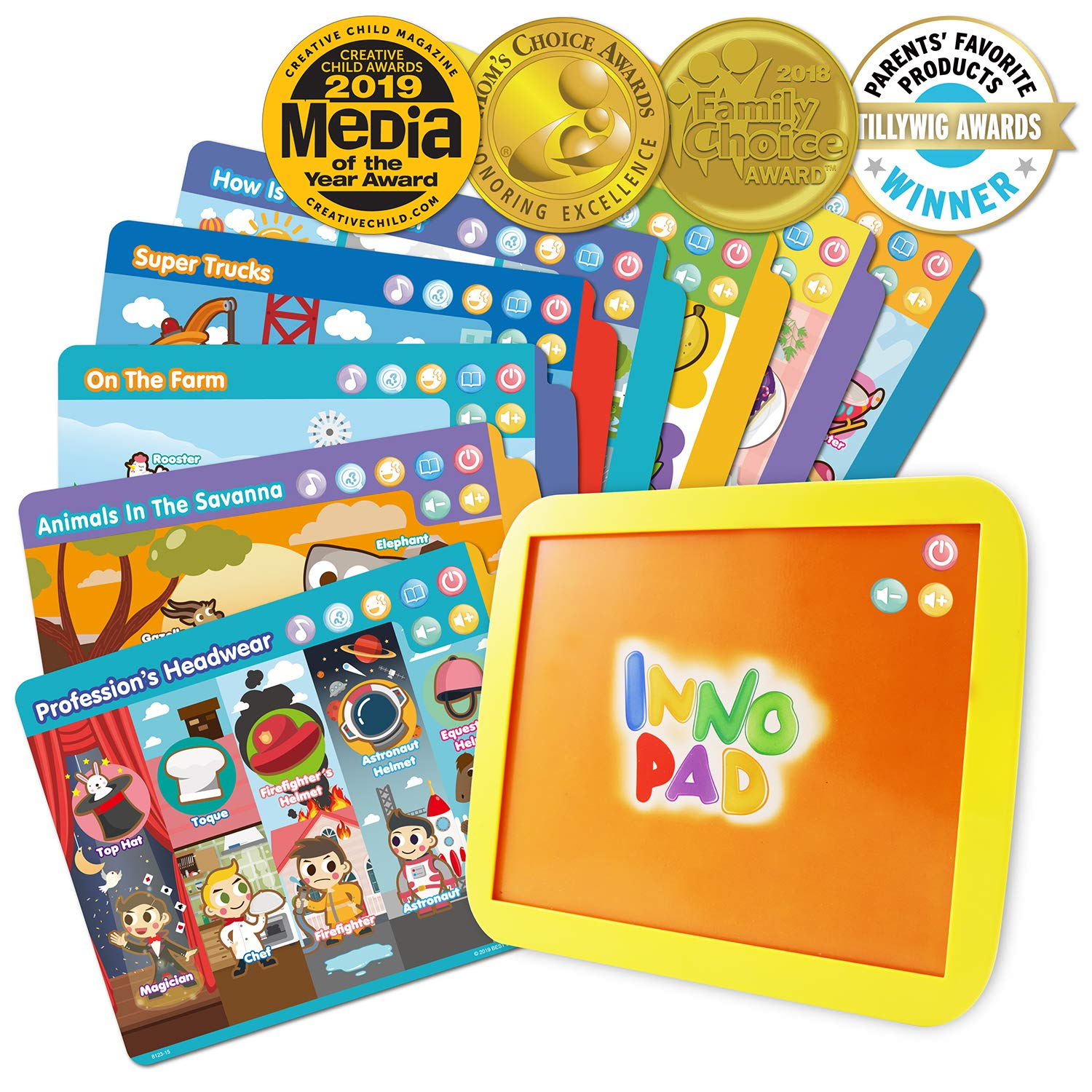 BEST LEARNING INNO PAD Smart Fun Lessons - Educational ...