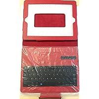 Schutzhülle für iPad 2/3 / 4, Bluetooth-Tastatur, Rot