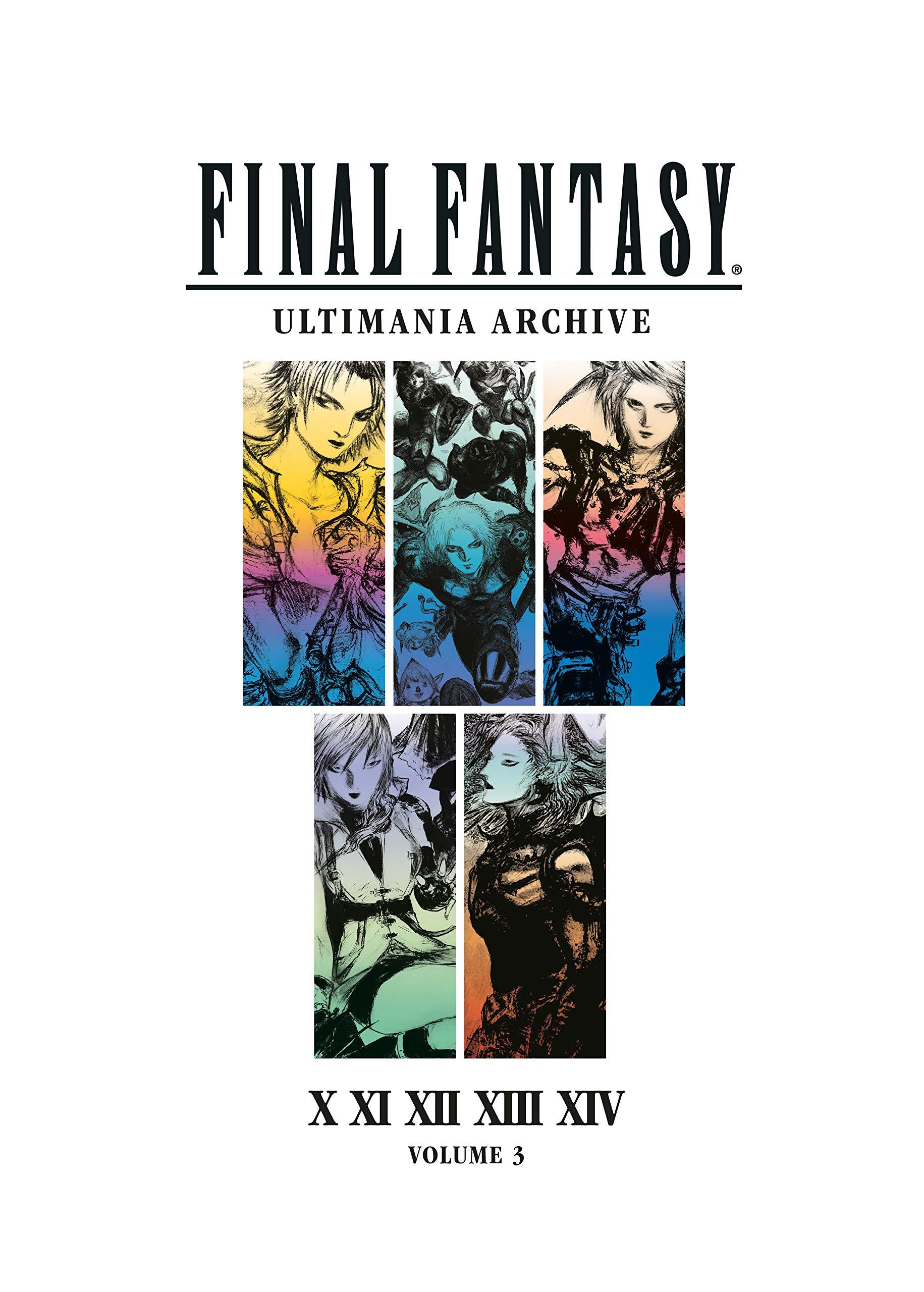 FF13 Ultimania Cover