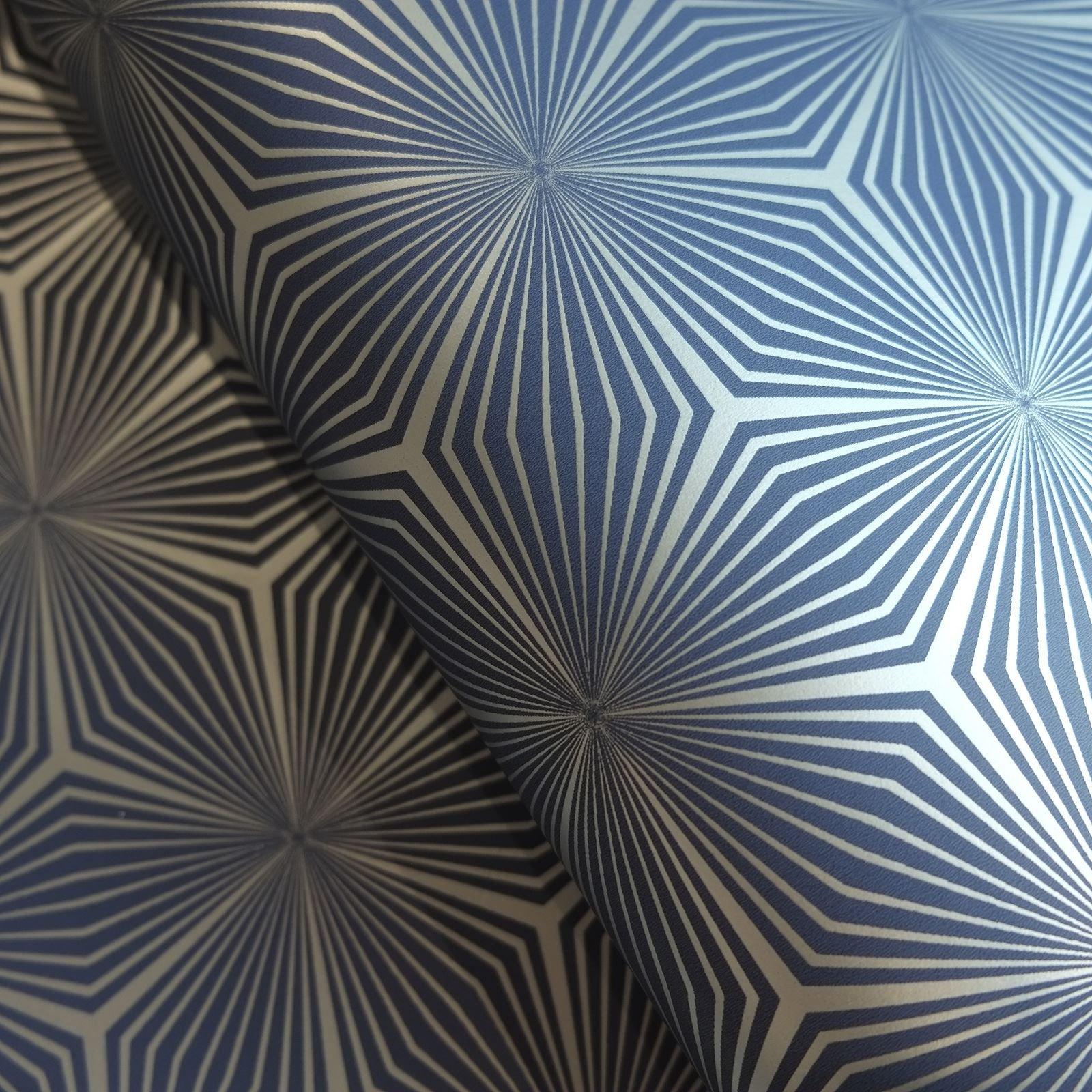 Holden Metallic Feather Pattern Wallpaper Leaf Motif Modern Textured 50080