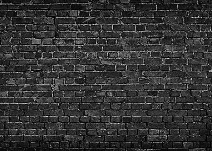 Aiikes 7x5ft Black Brick Wall Photography Backdrop Vintage Theme Stone Brick Design Photography Background Baby Birthday Party Decoration Photo Booth Studio Prop 11 501 Amazon Ca Camera Photo
