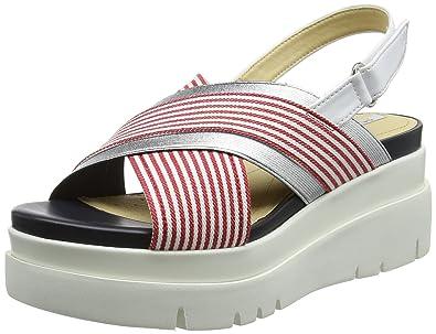 984b6fb8c81 Geox Women D Radwa A Flatform Sandals  Amazon.co.uk  Shoes   Bags