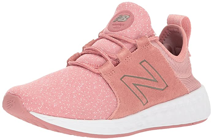 New Balance Fresh Foam Cruz Sport Pack Reflective Sneakers Laufschuhe Damen Rosa (Dusted Peach Champagne Metallic)