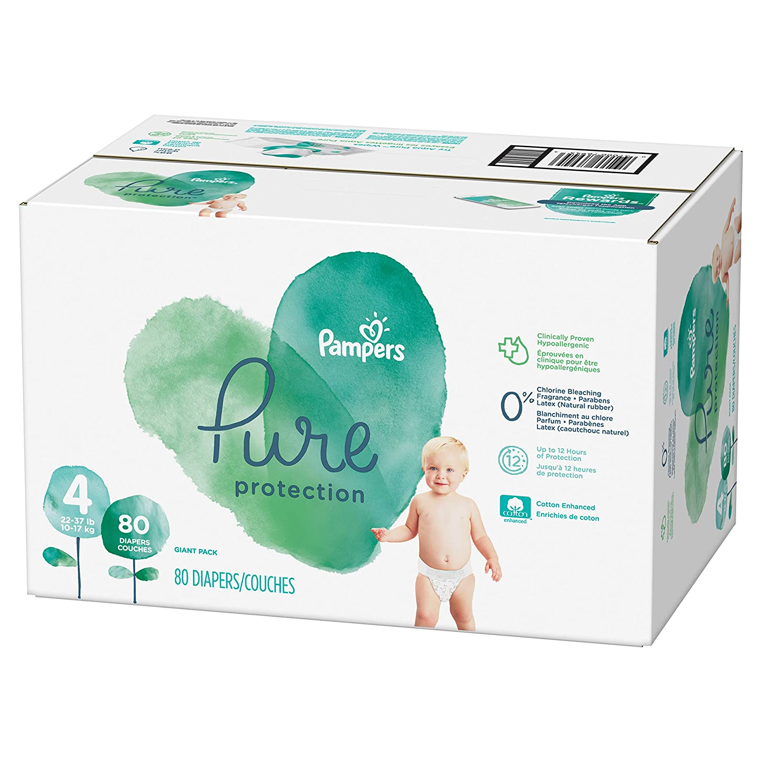 Pampers Pure Disposable Baby Diapers2